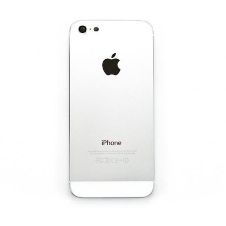 iPHONE 5 Obudowa tylna Srebrna - biała
