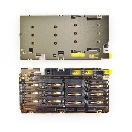 Sony Xperia Złącze NANO SIM XPERIA Z5 Dual E6633 E6683 E6883 ORYGINALNE
