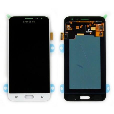 Samsung SM-J320F GALAXY J3 2016 Wyświetlacz LCD + DIGITIZER ORYGINALNY WHITE