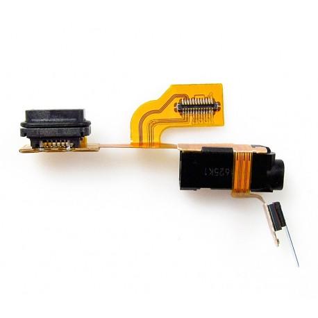 Nokia LUMIA 925 Taśma ze złaczem HF i MICROUSB ORYGINALNA