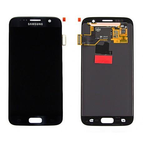 Samsung SM-G930F GALAXY S7 Wyświetlacz LCD + DIGITIZER ORYGINALNY BLACK