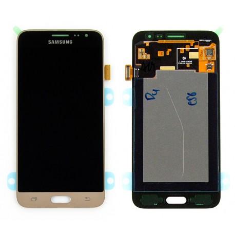 Samsung SM-J320F GALAXY J3 2016 Wyświetlacz LCD + DIGITIZER ORYGINALNY GOLD