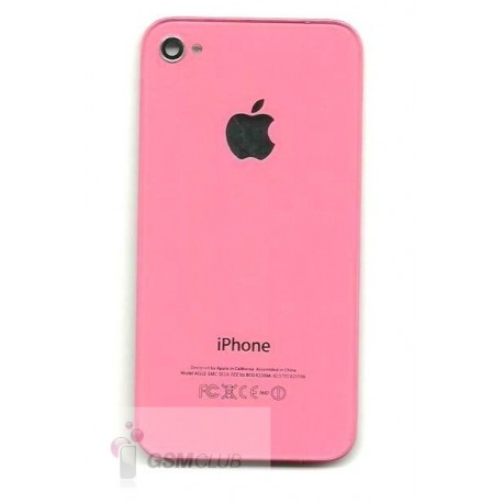 iPHONE 4G Klapka tylna Różowa