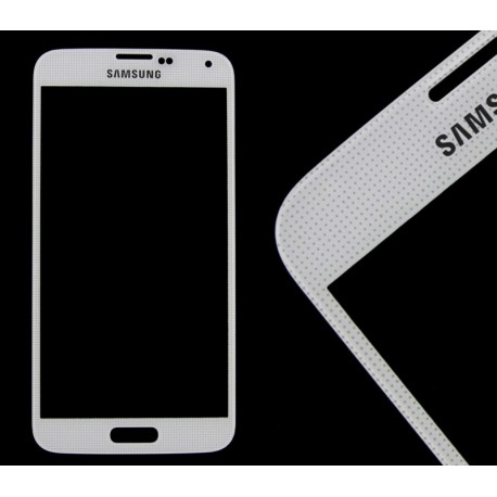 Samsung SM-G900F GALAXY S5 G903F GALAXY S5 NEO Szybka biała