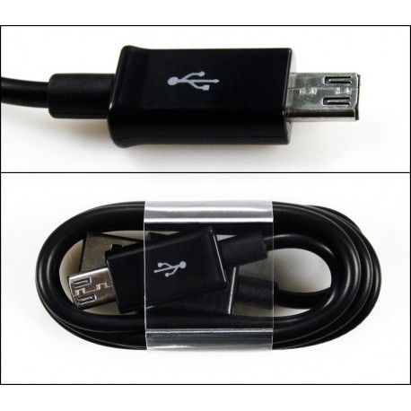 Kabel USB - MICROUSB długa końcówka 8mm do kabur