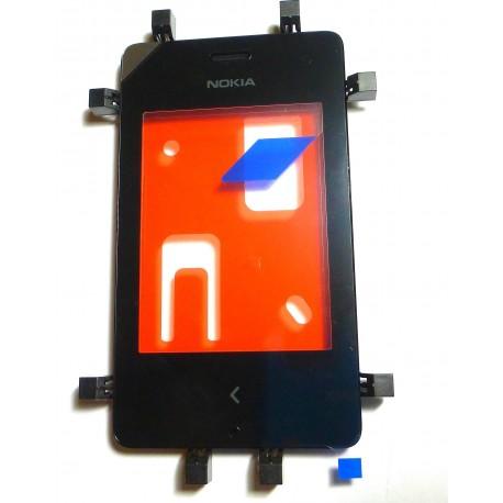 Nokia 500 Asha DIGITIZER ORYGINALNY czarny