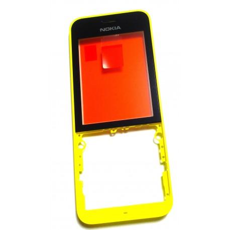 Nokia 220 Obudowa żółta przód ORYGINALNA YELLOW