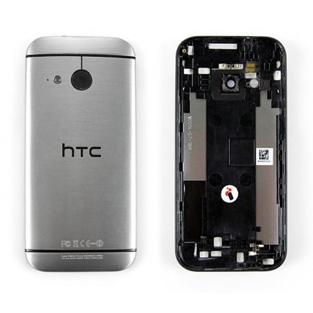 HTC ONE M8 MINI Klapka Szara ORYGINALNA