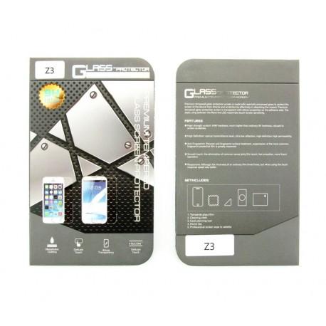 Sony Xperia Z3 D6603 D6643 D6653 PROTECTOR SZKŁO HARTOWANE NA LCD 9H przód + tył