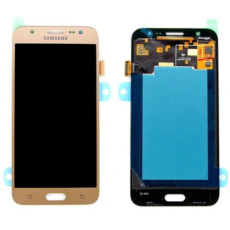 Samsung SM-J500F GALAXY J5 Wyświetlacz LCD + DIGITIZER ORYGINALNY GOLD