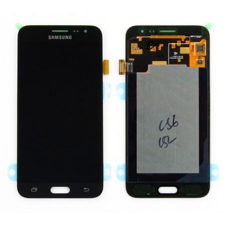 Samsung SM-J320F GALAXY J3 2016 Wyświetlacz LCD + DIGITIZER ORYGINALNY BLACK