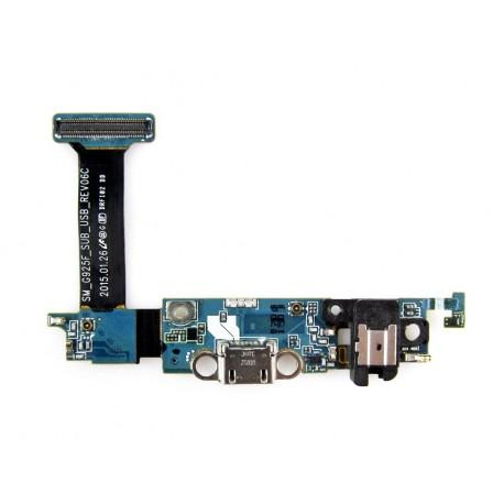 Samsung SM-G925F GALAXY S6 EDGE Taśma + złącze microusb ORYGINALNA