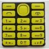 Nokia 206 Asha Klawiatura żółta ORYGINALNA YELLOW SS