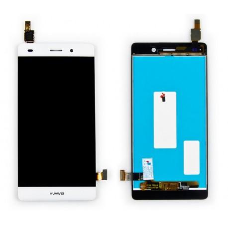 HUAWEI P8 LITE Wyświetlacz LCD ORYGINALNY + DIGITIZER biały