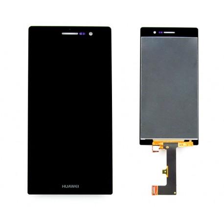 HUAWEI P7 ASCEND Wyświetlacz LCD ORYGINALNY + DIGITIZER czarny