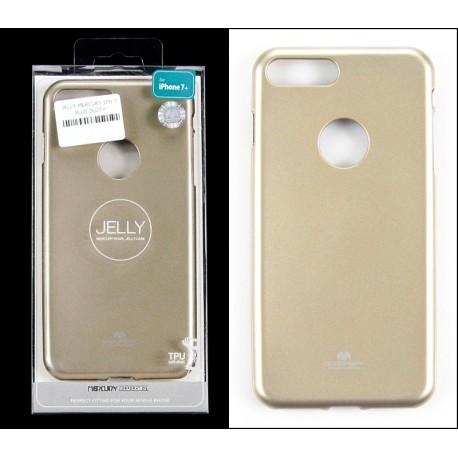 iPHONE 7 PLUS 5,5 Kabura model 3 Jelly Mercury GOLD