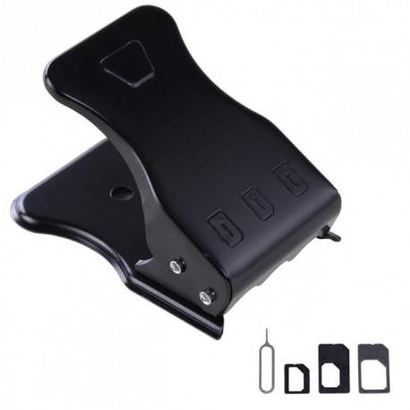 2w1 Nano SIM Micro SIM card cutter obcinacz iPAD iPHONE 4 4s 5 5S 6