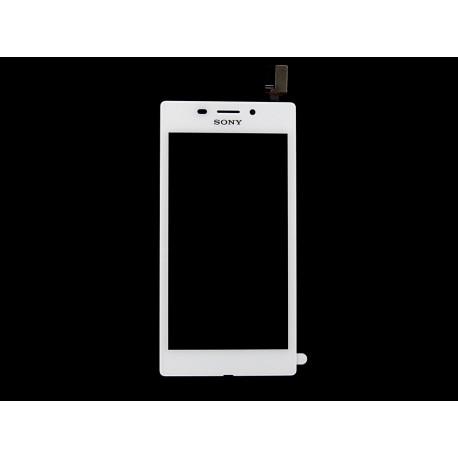 Sony Xperia M2 AQUA DUAL D2403 D2406 DIGITIZER biały