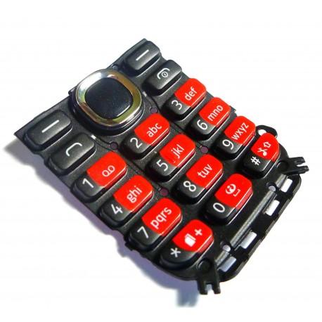 Nokia 112 Klawiatura czerwona ORYGINALNA RED