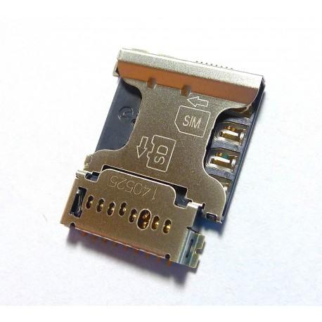 Samsung złącze karty SIM i8260 CORE I8262 Galaxy Core Dual SIM SM-G350 Galaxy Core Plus ORYGINALNE