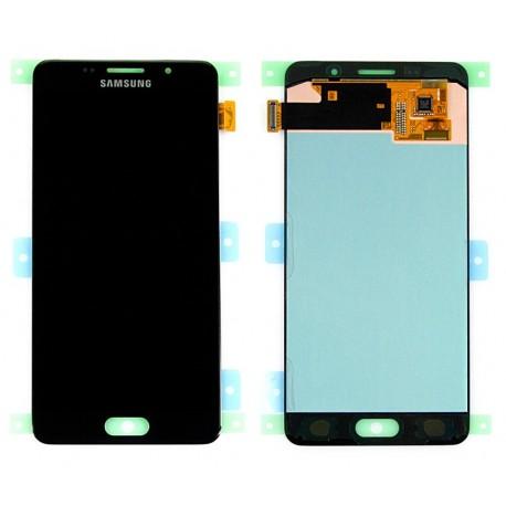 Samsung SM-A510F GALAXY A5 2016 Wyświetlacz LCD BLACK GOLD ORYGINALNY