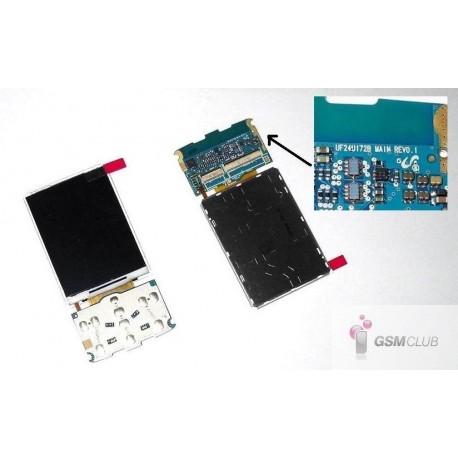 Samsung G800 Wyświetlacz LCD ORYGINALNY REVO 1