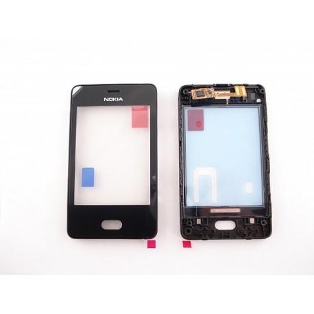 Nokia 501 Asha DIGITIZER ORYGINALNY czarny