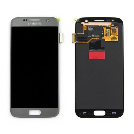 Samsung SM-G930F GALAXY S7 Wyświetlacz LCD SILVER ORYGINALNY