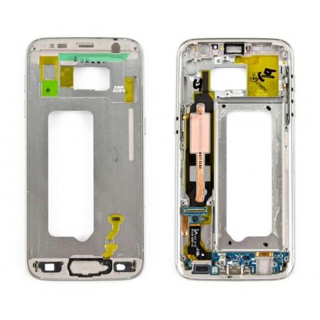 Samsung SM-G930F GALAXY S7 Taśma + złącze microUSB + korpus GOLD z taśmą boczną ORYGINALNY