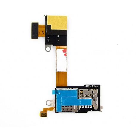 Sony Xperia M2 D2303 D2305 D2306 S50H Płytka karty sim i pamięci SS