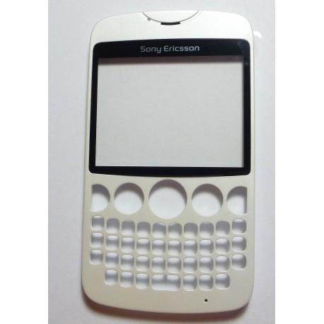 Sony Ericsson CK13i TXT Obudowa przód biała ORYGINALNA