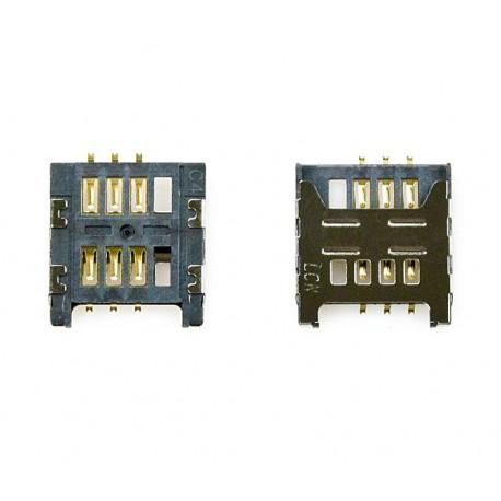 Samsung złącze karty SIM S6102 S6802 B5510 C3520 E1200 i9250 ORYGINALNE