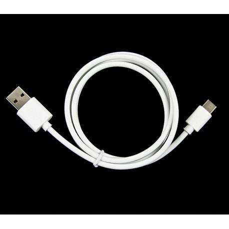 KABEL USB - USB TYP-C USB 2.0 biały