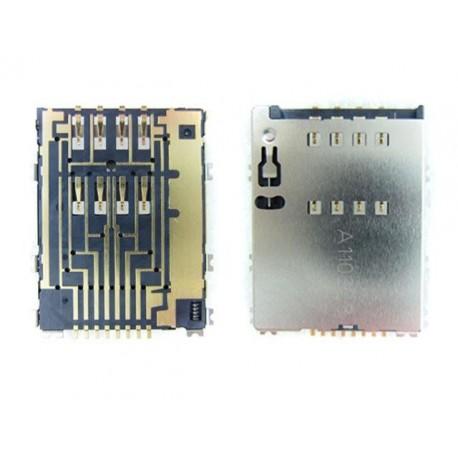 Samsung złącze karty SIM P5100 GALAXY TAB II P6800 S5250 i8530 ORYGINALNE