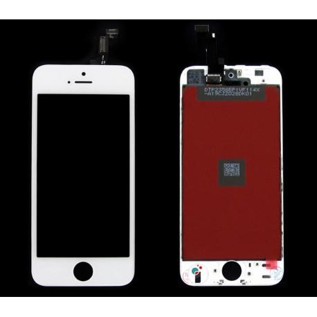 iPHONE 5SE Wyświetlacz LCD biały