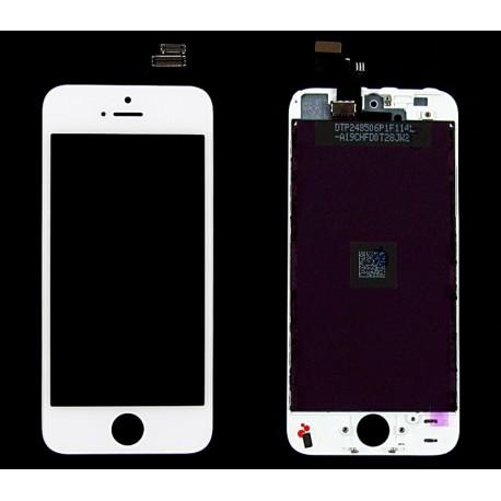 iPHONE 5 Wyświetlacz LCD biały A1428 A1429