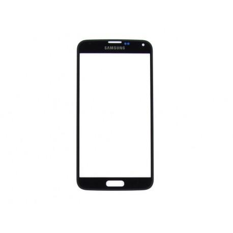 Samsung SM-G900F GALAXY S5 G903F GALAXY S5 NEO Szybka czarna - szara obwódka