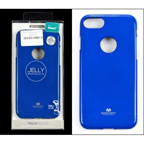 iPHONE 7 4,7 Kabura model 5 Jelly Mercury Niebieski