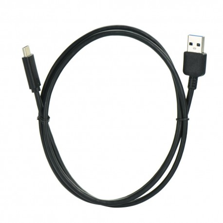 KABEL USB - MICROUSB TYP C USB 3.0 czarny