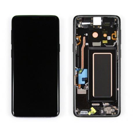 Samsung SM-G960F GALAXY S9 Wyświetlacz LCD + DIGITIZER ORYGINALNY BLACK