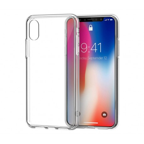 iPHONE 10 X 10S XS 5.8'' Guma BACK CASE super SLIM 0,3mm