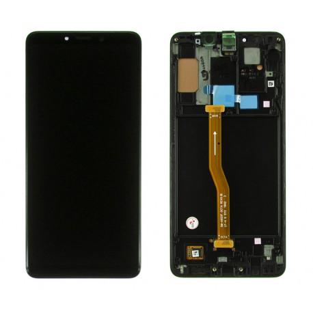 Samsung SM-A920 A9 2018 Wyświetlacz LCD + DIGITIZER ORYGINALNY BLACK