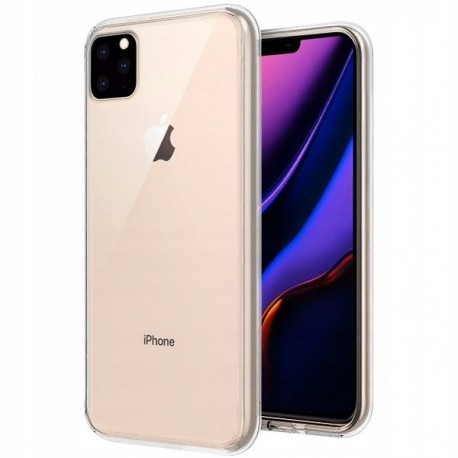 iPHONE 11 PRO MAX 6.5'' Kabura SLIM 0,5mm transparentna