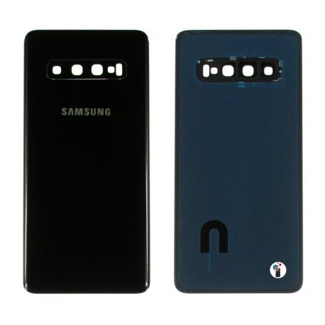 Samsung SM-G973F GALAXY S10 Klapka czarna BLACK