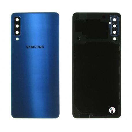 Samsung SM-A750 GALAXY A7 2018 Klapka niebieska BLUE SS