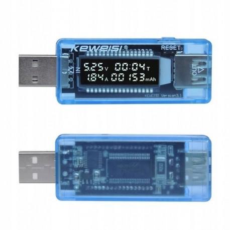MIERNIK GSM TESTER KEWEISI MIERNIK GNIAZDA USB