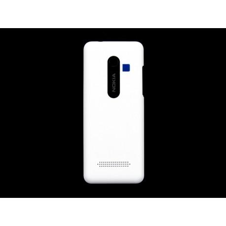 Nokia 206 Asha Klapka biała ORYGINALNA WHITE DS